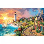 Puzzle   Image World - Lighthouse by the Sea