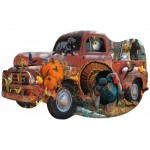 Puzzle   Jerry Gadamus & Cynthia Fisher - Harvest Truck