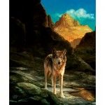 Puzzle   Julie Bell - Lone Wolf