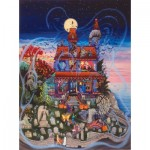 Puzzle   Kathy Jakobsen -  The Ghost and the Haunted House