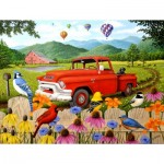 Puzzle   Robert Wavra - The Red Truck