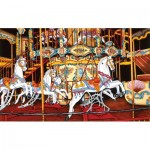 Puzzle   Thelma Winter - Carousel at the Fair