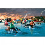 Puzzle   XXL Teile - Fishing Contest