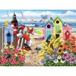 Puzzle   XXL Teile - Nancy Wernersbach - At Home by the Sea