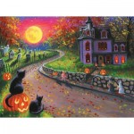 Puzzle   XXL Teile - On a Spooky Night