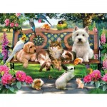 Puzzle   XXL Teile - Pets in the Park