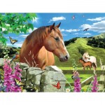 Puzzle   XXL Teile - Summer Meadow