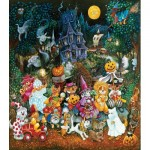 Puzzle   XXL Teile - Trick or Treat Dogs