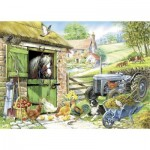 Puzzle  The-House-of-Puzzles-1394 XXL Teile - Down On The Farm