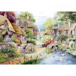 Puzzle  The-House-of-Puzzles-1431 XXL Teile - River Cottage