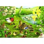 Puzzle  The-House-of-Puzzles-1608 XXL Teile - Ducks To Water