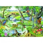 Puzzle  The-House-of-Puzzles-1646 XXL Teile - Tales Of The River