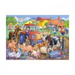 Puzzle  The-House-of-Puzzles-1806 XXL Teile - Farm Friends