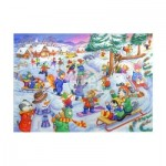 Puzzle  The-House-of-Puzzles-1813 XXL Teile - Fun In The Snow
