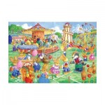 Puzzle  The-House-of-Puzzles-1820 XXL Teile - Funfair Games