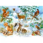 Puzzle  The-House-of-Puzzles-1912 XXL Teile - Midwinter