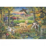 Puzzle  The-House-of-Puzzles-2407 XXL Teile - Evening Walk