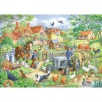 Puzzle  The-House-of-Puzzles-2445 XXL Teile - Keeping Busy