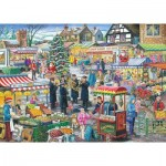Puzzle  The-House-of-Puzzles-2971 Find the Differences No.5 - Festive Market