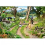 Puzzle  The-House-of-Puzzles-3404 XXL Teile - Family Day Out