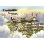 Puzzle  The-House-of-Puzzles-3510 XXL Teile - Final Approach