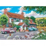 Puzzle  The-House-of-Puzzles-3572 XXL Teile - Travellers Rest