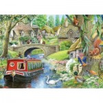 Puzzle  The-House-of-Puzzles-4159 XXL Teile - Take it Easy