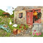 Puzzle  The-House-of-Puzzles-4555 XXL Teile - Ruling The Roost