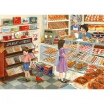 Puzzle  The-House-of-Puzzles-4586 XXL Teile - Tuppenny Treats