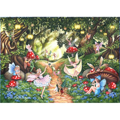 Puzzle The-House-of-Puzzles-4739 XXL Teile - Faerie Dell