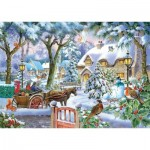 Puzzle  The-House-of-Puzzles-4876 XXL Teile - Almost Home