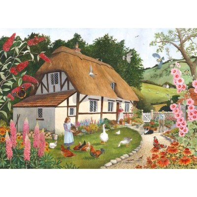Puzzle The-House-of-Puzzles-4913 XXL Teile - Pretty As A Picture