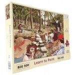 Puzzle   XXL Teile - Learn To Paint