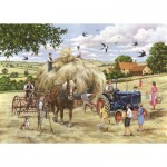 Puzzle   XXL Teile - Making Hay