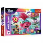 Puzzle  Trefl-17344 Dreamworks - Trolls World Tour