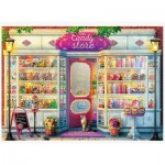Puzzle  Trefl-37407 The Candy Shop