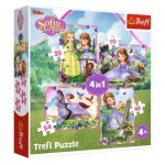 4 Puzzles - Sofia The First