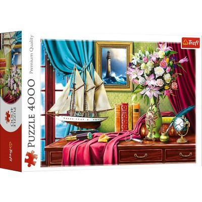 Puzzle Trefl-45008 Explorers Office