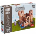 Puzzle  Trefl-60980 Build with Bricks - Die Festung