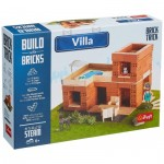 Puzzle  Trefl-60981 Build with Bricks - Villa