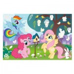 My Little Pony - Puzzle + Stickers