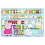 Peppa Pig - Puzzle + Stickers