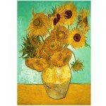 Wentworth-713704 Holzpuzzle - Van Gogh - Sunflowers