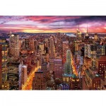 Holzpuzzle - Manhattan Skyline
