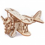 Wooden-City-WR304-8039 3D Holzpuzzle - Biplane