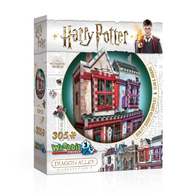 Wrebbit-3D-0509 3D Puzzle - Harry Potter (TM) - Quality Quidditch Supplies and Slug & Jiggers