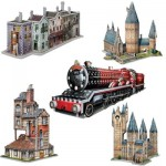 Wrebbit-Set-Harry-Potter-3 5 3D Puzzles - Set Harry Potter