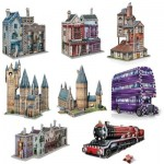 Wrebbit-Set-Harry-Potter-4 8 x 3D Puzzles - Set Harry Potter (TM)