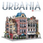 Wrebbit-Set-Urbania 3D Puzzle - Urbania Collection - Café, Cinema, Hotel